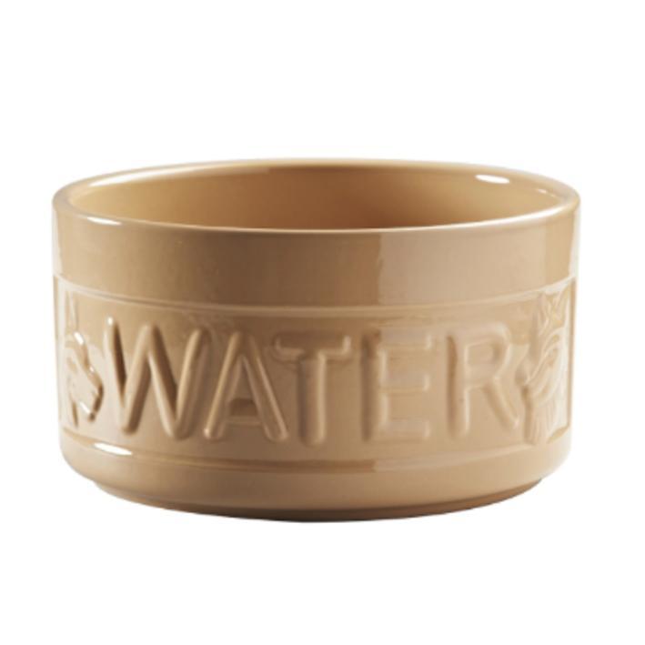 mason cash lettered dog water bowl cane 20cm x 10 5cm purely pet