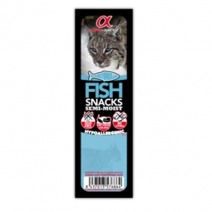Alpha Spirit Fish Snacks for Cats
