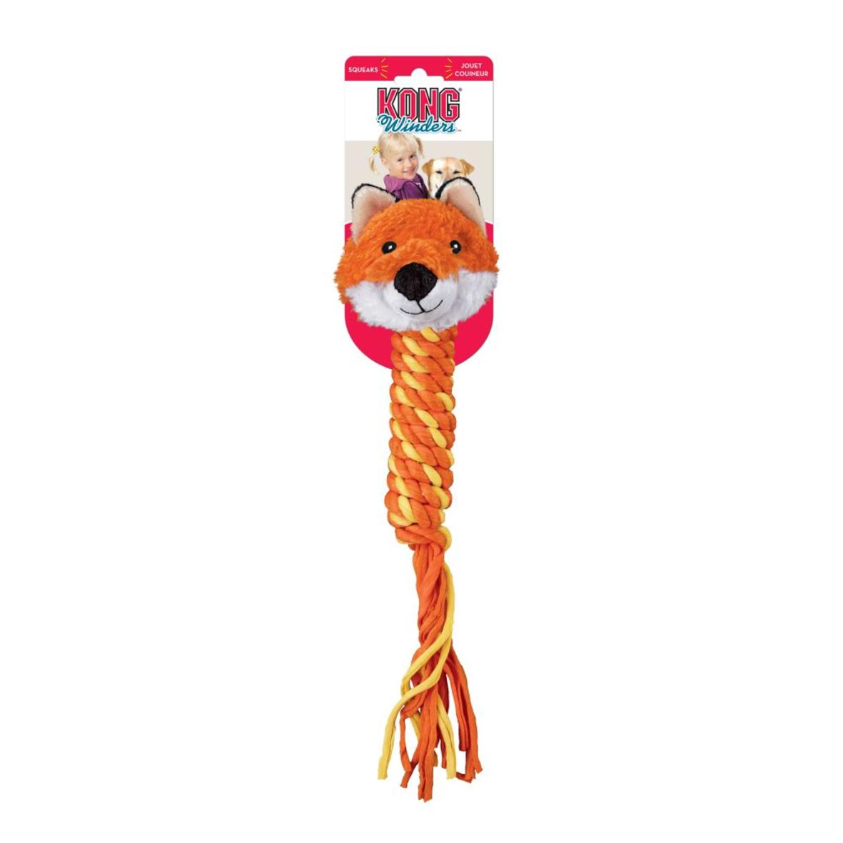 KONG Winders Fox Orange 41cm