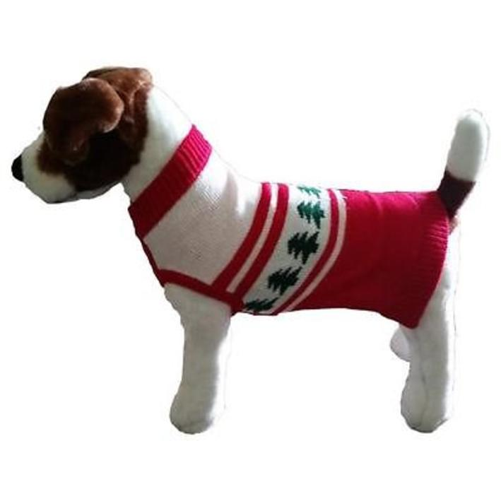 Animate Christmas Tree Jumper for Dogs