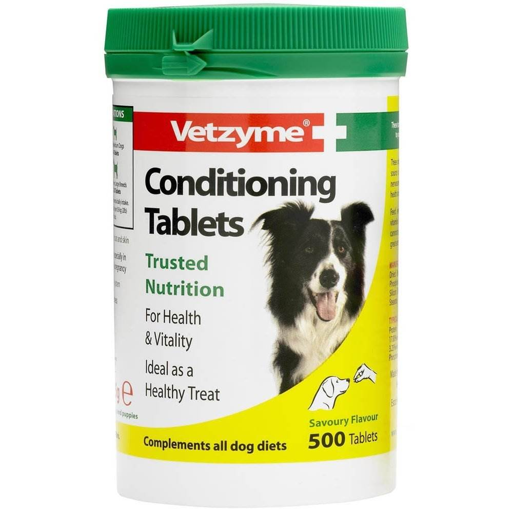 Vetzyme Conditioning Tablets 500pcs