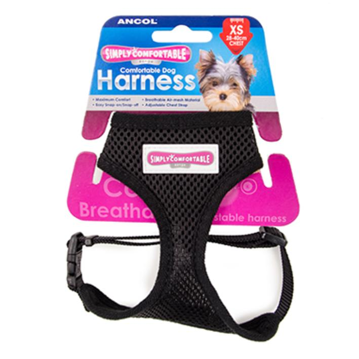 Ancol Comfort Harness Black