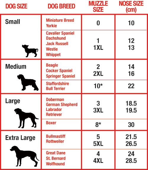 Cats Like Us Size Chart