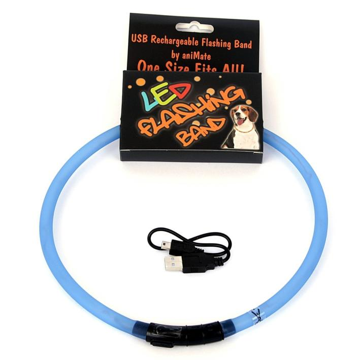 Animate LED Flashing Band Blue