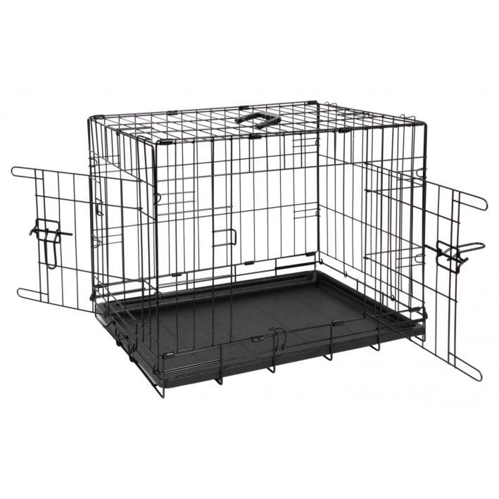 Animal Instincts Comfort Crate Black