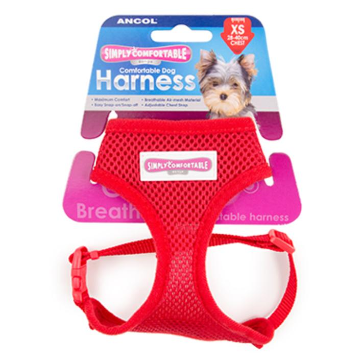 Ancol Comfort Harness Red