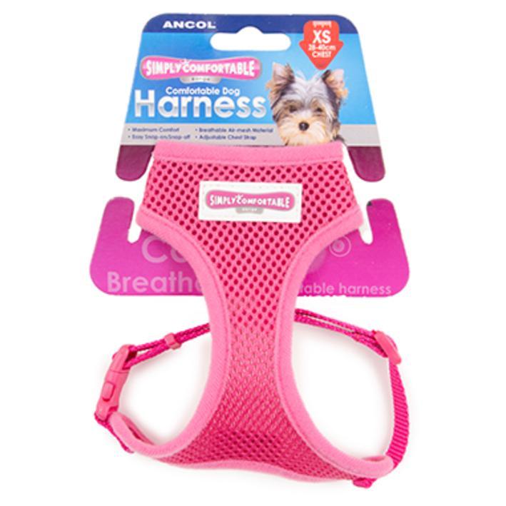 Ancol Comfort Harness Raspberry