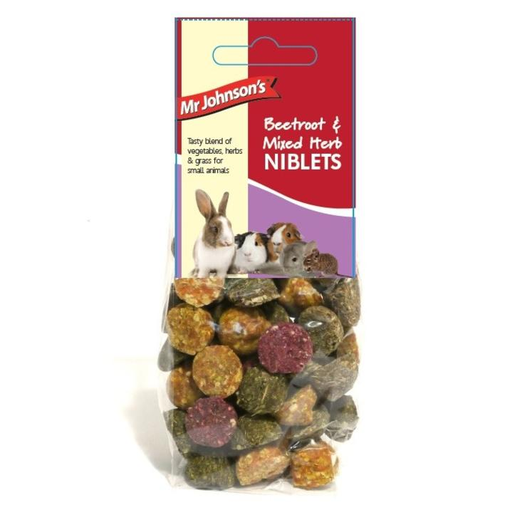 CLEARANCE Mr Johnsons Niblets with Beetroot and Mixed Herbs 140gm