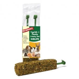 Mr Johnsons Vegetable and Dandelion Crunchy Bars 2pk