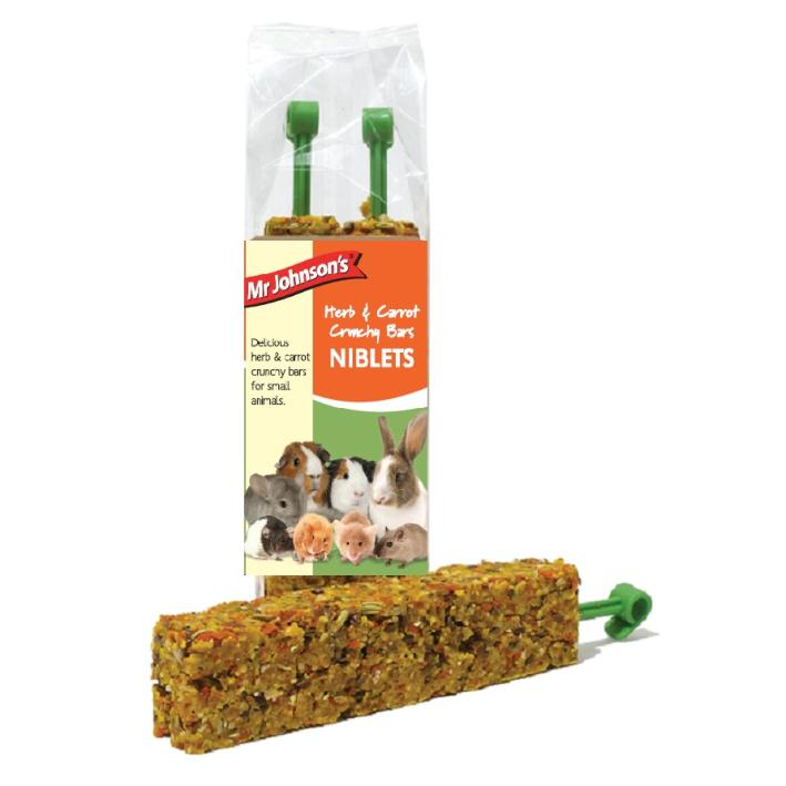 Mr Johnsons Herb and Carrot Crunchy Bars