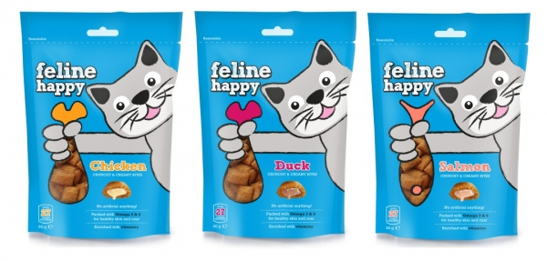 Mark and Chappell Feline Happy Range