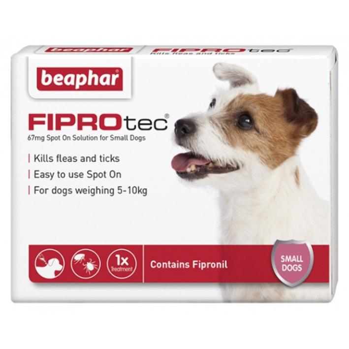 Beaphar FIPROtec for Small Dogs