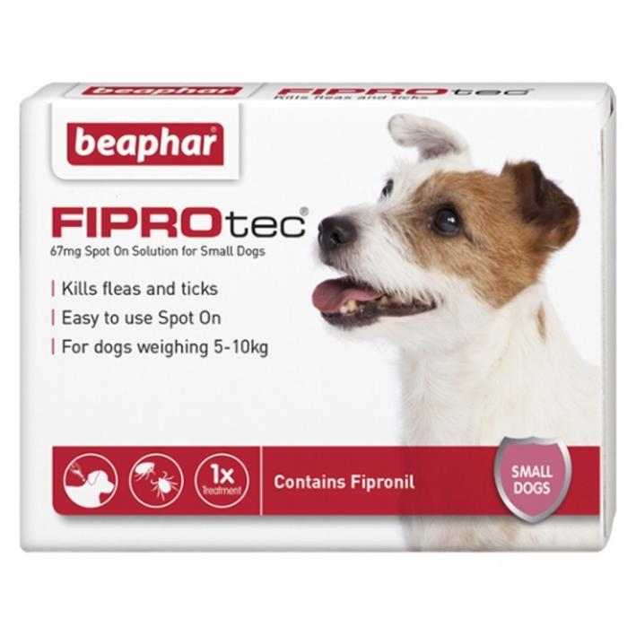 Beaphar FIPROtec for Small Dogs