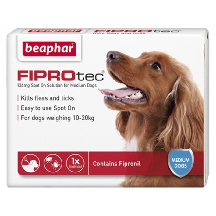 Beaphar Fiprotec Spot On Treatment for Medium Dogs