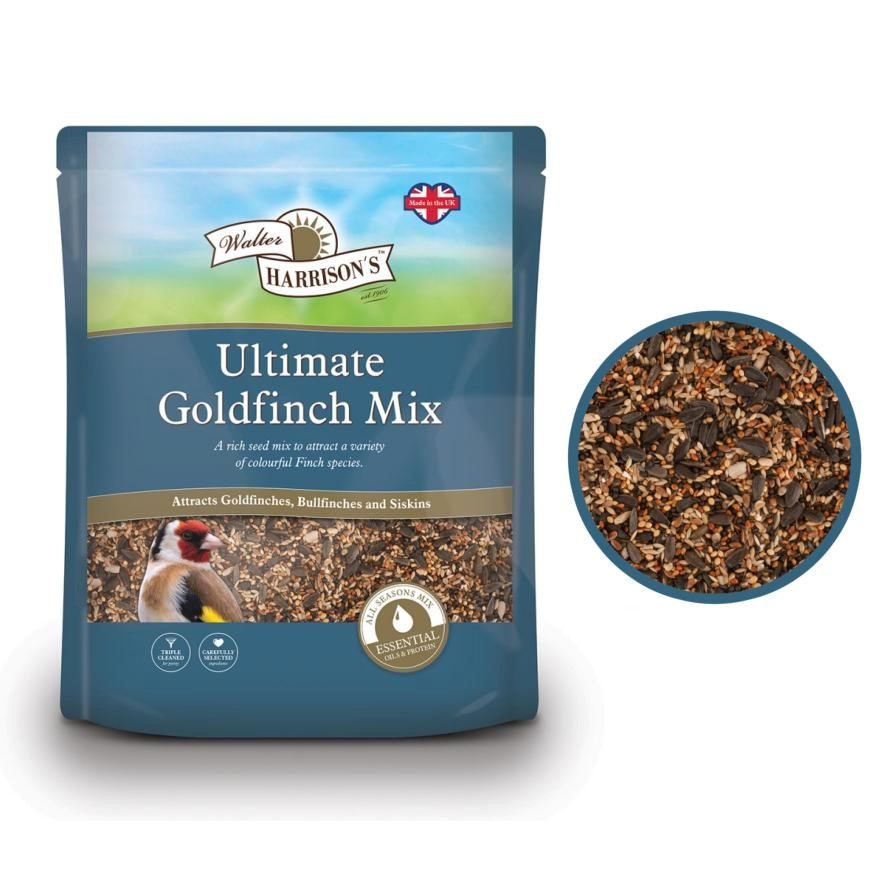 CLEARANCE Walter Harrisons Ultimate Goldfinch Mix 2kg