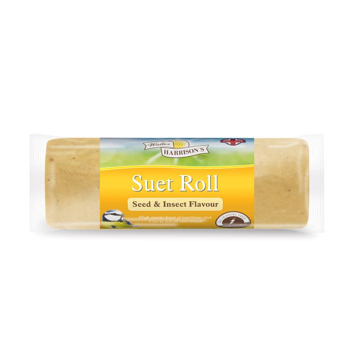 Walter Harrisons Suet Roll with Seeds and Insects