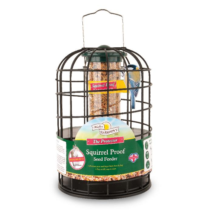 Walter Harrisons Squirrel Proof Seed Feeder