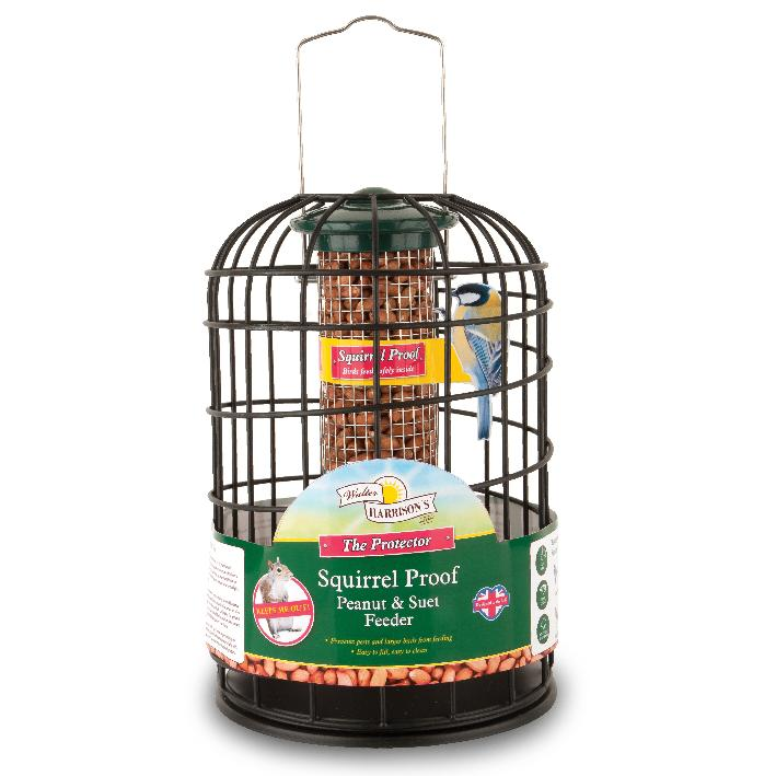 Walter Harrisons Squirrel Proof Peanut Feeder