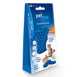 Pet and Me Grooming Brush for Short Haired Cats