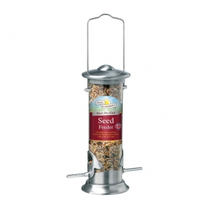 Walter Harrisons Steel Die Cast Seed Feeder 20cm