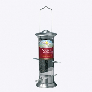 Walter Harrisons Steel Die Cast Nyger Feeder 20cm