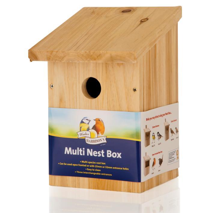 Walter Harrisons Multi Nest Box