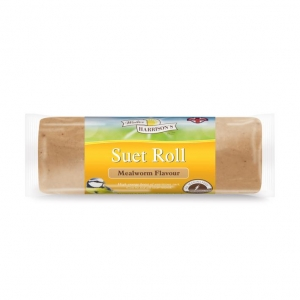 Walter Harrisons Suet Roll with Mealworms