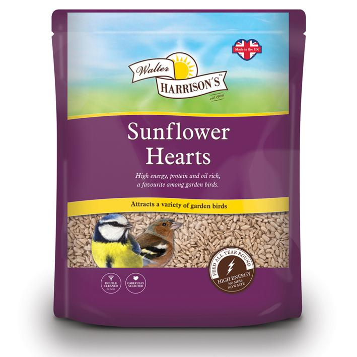Walter Harrisons Sunflower Hearts
