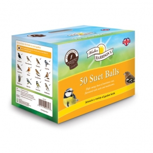 Walter Harrisons Suet Balls 50 x 85gm
