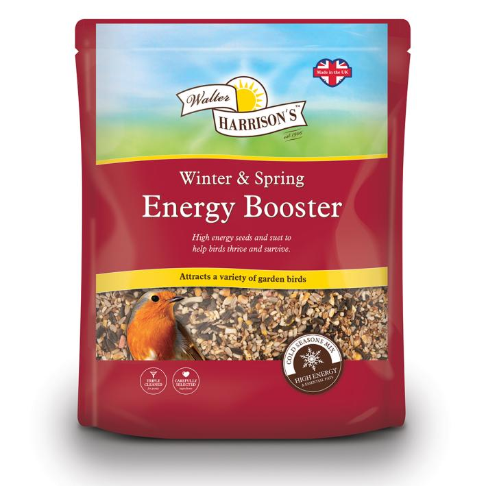 Walter Harrisons Winter and Spring Energy Booster