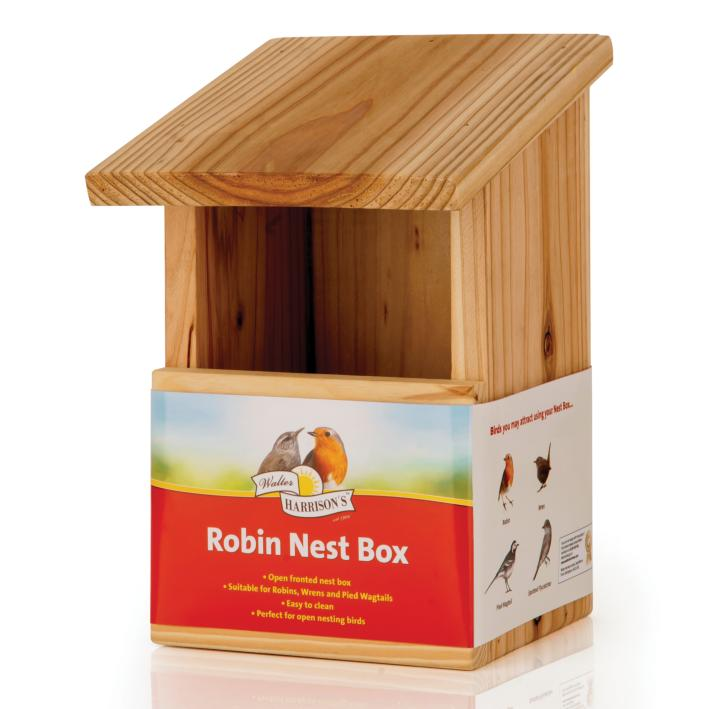 Walter Harrisons Robin Nest Box