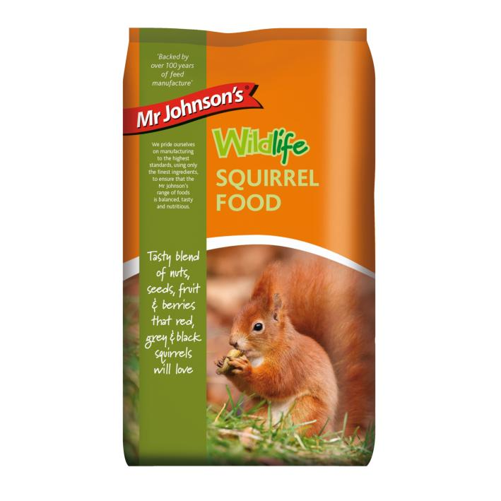 Mr Johnsons Wildlife Squirrel Food