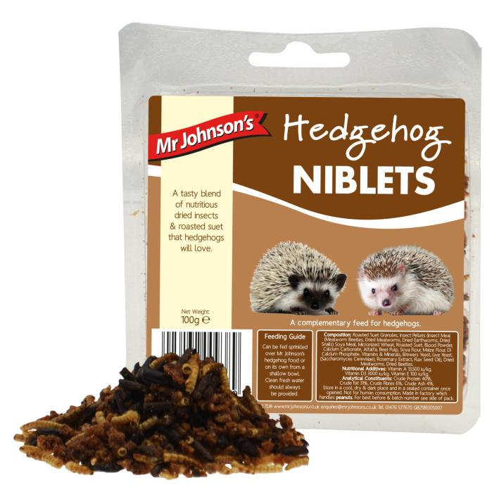 Mr Johnsons Hedgehog Niblets