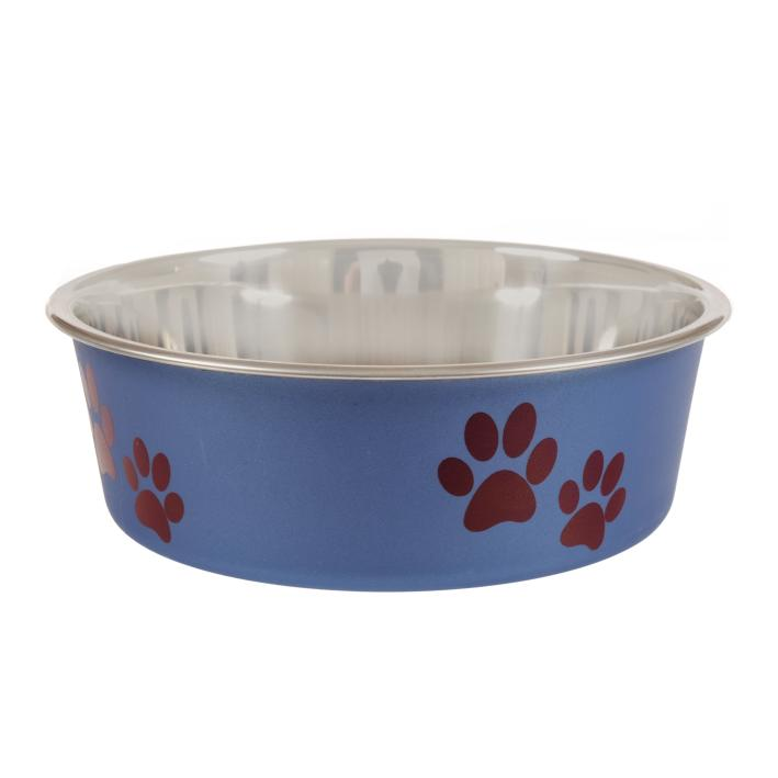Animal Instincts Bella Bowl Blueberry Paws