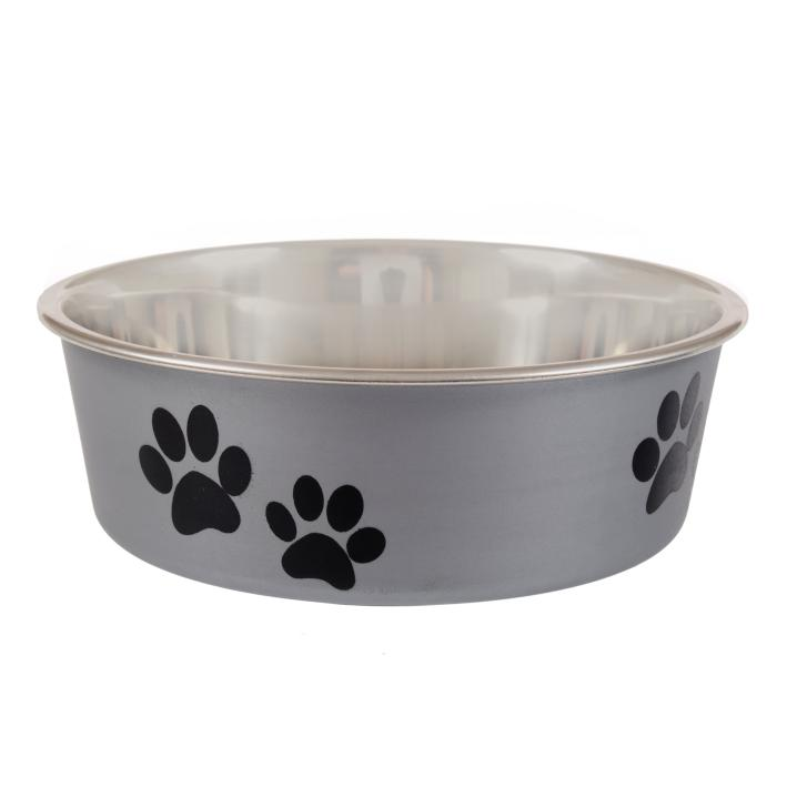 Animal Instincts Bella Bowl Silver Paws