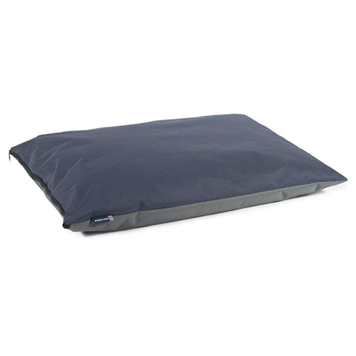 Ancol Sleepy Paws Waterproof Pet Bed Navy Grey