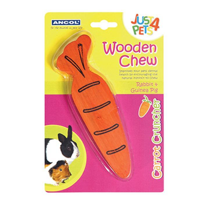 Ancol Carrot Cruncher Wooden Chew