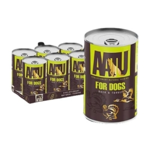 AATU Duck & Turkey Tins 6x400g