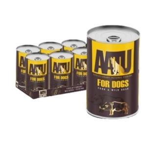 AATU Pork & Wild Boar Tins 6x400g