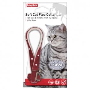 Beaphar Cat Flea Collar Diamante Design 30cm