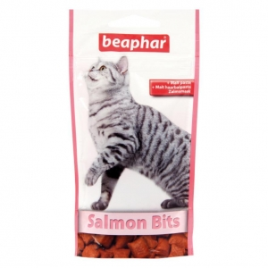 Beaphar Salmon Bits with Malt 75pcs