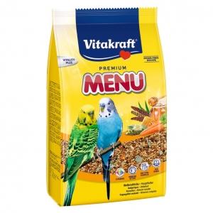 Vitakraft Budgie Menu Food 500gm