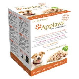 Applaws Supreme Selection Chicken Multipack 5 x 100gm (Grain & Gluten Free)