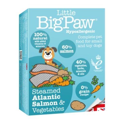 Little BigPaw Steamed Atlantic Salmon & Vegetables 7 x 150gm