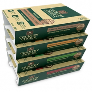 Gelert Country Choice Variety Pack Trays 12 x 395gm