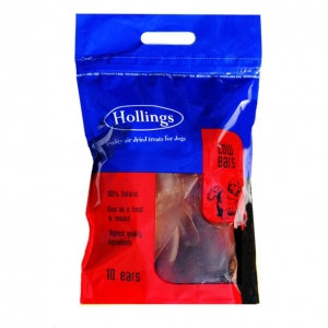 Hollings Cow Ears 10pcs