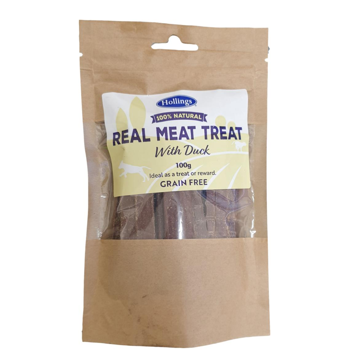 Hollings Real Meat Treat with Duck 100gm