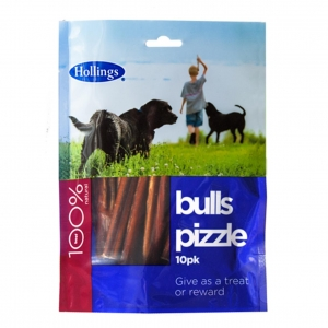 Hollings Bull Pizzles 10pcs