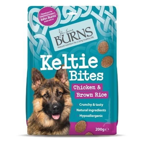 BURNS Keltie Bites Chicken & Brown Rice 200g