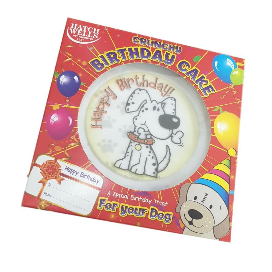 CLEARANCE Hatchwells Crunchy Birthday Cake 10cm